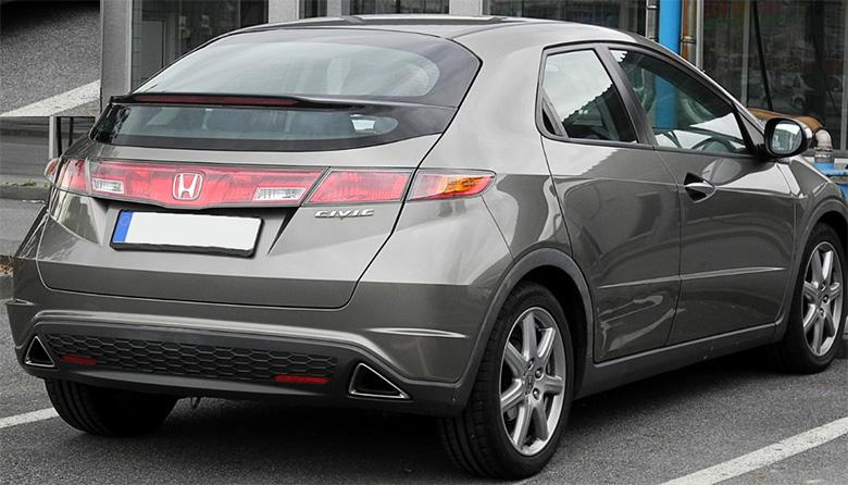 Honda Civic με 550 χιλιάδες χιλιόμετρα